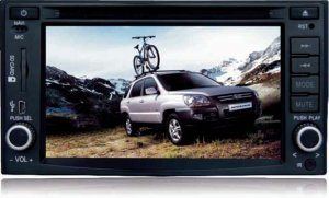 KIA Sportage DVD плеер с GPS/Bluetooth/TV (CJTCCV6822)