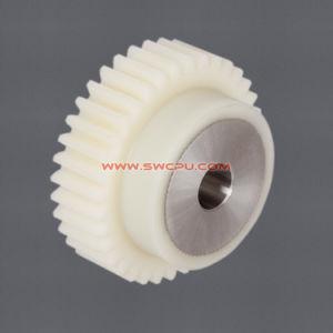 주입 투명한 백색 테플론 플라스틱 내부 전송 링기어 바퀴