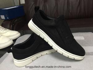 Real de los hombres casual zapatos de cuero