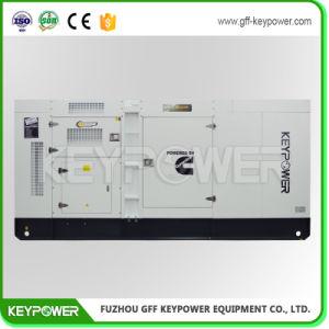 400kw de type silencieux système Generetor diesel refroidi par eau avec moteur Cummins