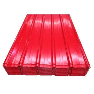 Strato d'acciaio ondulato del tetto preverniciato PPGI di Dx51d