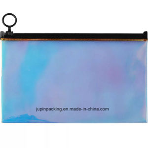 2018의 도매 주문 PVC 플라스틱 색깔 장식용 의복 Holigraphic 부대 (jp Holigraphic 부대 001)