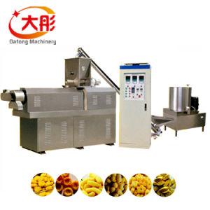 Máquina de hacer maíz Resopló aperitivos de maíz y resopló bocadillos de la extrusora/Resopló bocadillos de la línea de producción