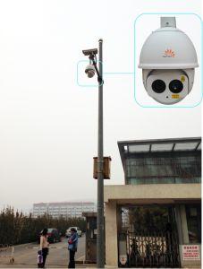 IP van het Web van kabeltelevisie van de veiligheid Thermische Camera met Formaat RS485