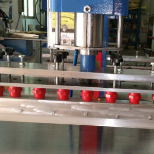 De pneumatische Machine van het Lassen van de Machine van de Hoge Frequentie van het Pedaal Dubbele Hoofd Plastic