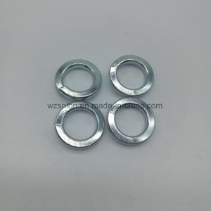DIN127 Bleu Blanc de zinc plaqué de rondelles de blocage de ressort en acier