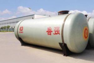 Высокое качество двойные стенки подземный резервуар для хранения масла