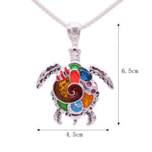 Halsband van de Schildpad van de manier de Dierlijke & de Heldere MultiHalsband van Tegenhangers