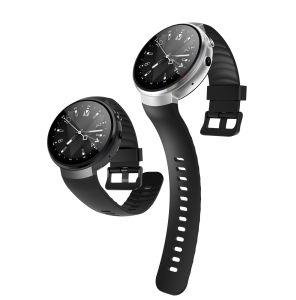 4G心拍数のモニタが付いている独立した電話4Gのスマートな腕時計サポートNamo SIMのカード