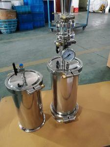 Serbatoio rivestito del solvente di estrazione di ricircolazione dell'acqua dell'acciaio inossidabile