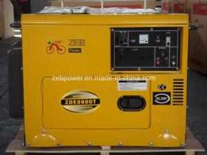 7kVA générateurs portables de type silencieux (ZDE8600T)