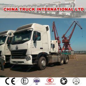 ヨーロッパ様式Sinotruk HOWO A7 420HP 100トンのトラクターヘッド