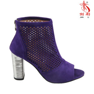 2018 Mesdames sexy femmes Hollow Out sandale chaussure avec Open Toe (HSA52)
