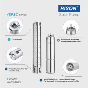 Pompa ad acqua solare sommergibile superiore per 3inches e 4inches