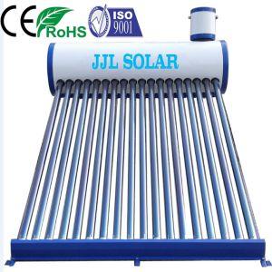 Non-Pressurizedコンパクトな真空管のSolar Energy熱湯の暖房装置のステンレス鋼、統合された低いですか高圧ヒートパイプのソーラーコレクタの給湯装置