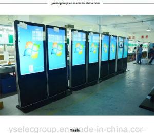Affissione a cristalli liquidi di Yahsi che fa pubblicità al chiosco Android di pubblicità di schermo di tocco della visualizzazione