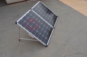 80W Складная солнечная панель для кемпинга с кабель 10 м