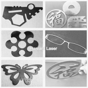 Equipo de corte láser de fibra óptica estándar del fabricante chino