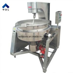 gas elettrico industriale 300L che inclina la caldaia di cottura rivestita della vaschetta con il temporizzatore