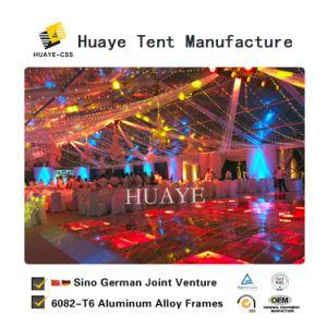 Fantasia temporária Ignifugação resistente a raios UV tenda com decoração da festa de casamento
