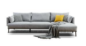 Новый дизайн мебели Северной Европы L-образный вид в разрезе диван,