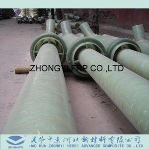 Personalizar el FRP GRP colocación del tubo de fibra de vidrio.