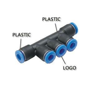Conector neumático de aire con el precio más bajo (PK 10)