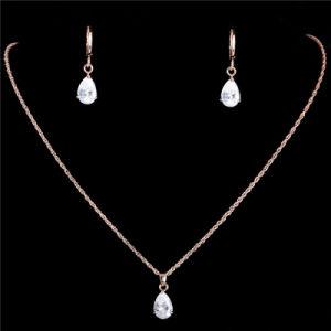 Hete Verkoop 6 Kleuren 925 de Echte Zilveren Reeks van Juwelen