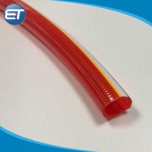 Mangueira trançada de polipropileno de PVC e conexões para a água do ar de Combustível