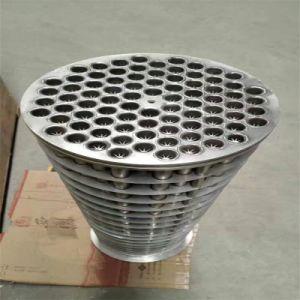 공기 압축기에 사용되는 다관형 열교환기