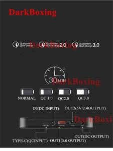 La Banca universale di potere del telefono del caricatore accumulatore per di automobile del Portable 31800mAh per il computer portatile