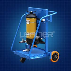 Lyc-a Serien-bewegliche Schmierölfilter-Maschine, die Verunreinigungen/Öl-Reinigungsapparat-Karre entfernt