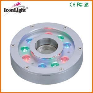Alto poder de protección IP68 9*3W Fuente de luz LED (icono-C008)