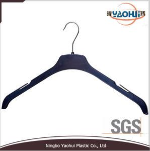 Suporte de camisa de plástico com o gancho de metal para Casaco (44cm)