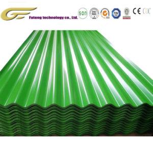 035-1.2 mm Revêtement de couleur feuille de toiture en acier galvanisé