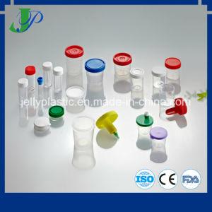 Мочи образца бутылки чашки с изменением температуры газа