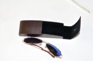 Cassa ottica degli occhiali della casella del metallo degli occhiali da sole della cassa del ferro della cassa di cuoio dello spettacolo per i vetri ottici di usura ottica degli occhiali da sole di modo (HX291)