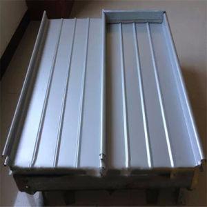 Matériau de construction extérieurs en aluminium en alliage de magnésium Manganèse tuile de toit de métal