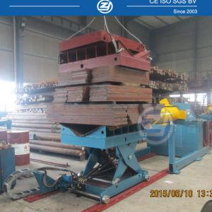 カスタマイズされた自動油圧Decoiler任意選択コイル・カーの工場価格の販売のためのコイルのUncoiler鋼鉄機械10トンの