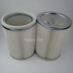 Pli profonde du vérin de filtre à air HEPA plissé cartouche de filtre à turbine à gaz