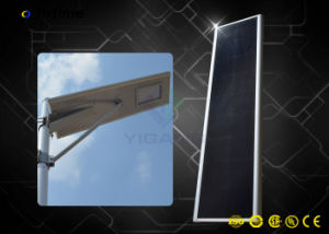 Luz LED de la calle solar integrada de la luz de carretera con un panel solar