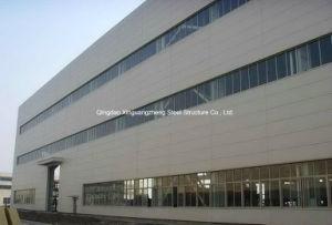 Edificio de acero, estructura de acero de varias plantas Almacén (W-008)
