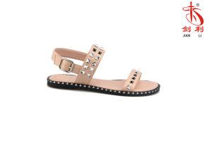 2018 Trendy sans lacets Femmes pour la mode Lady Slipper sandale (FLS18003)