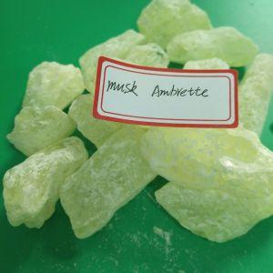 Der größte Hersteller China-natürliches Aroma-Gebrauch-des hellgelben Farben-Moschus Ambrette für Duftstoff