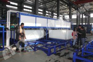 Bloc de nouvelles technologies de pointe une congélation directe la machine à glace pour le Vietnam