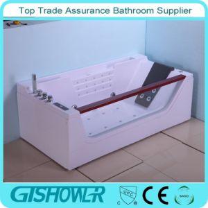 El cuarto de baño independiente hidromasaje Jacuzzi, masaje de acrílico bañera (KF-620)