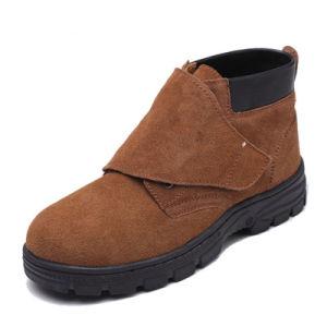 Gamuza Material de cuero Zapatos de seguridad de alta calidad