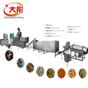 Voedsel die van de Snacks van het Graan van het Voedsel van de Snacks van het graan het Machine Gepufte Machines maken
