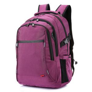 大きい旅行学校の大学はヘッドホーンのジャックのポートのバックパックが付いている防水ビジネスラップトップを袋に入れる
