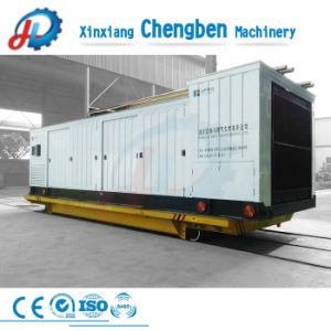 Máquinas pesadas as quatro rodas do carro de plano ferroviário eléctrico eléctrica fornecida